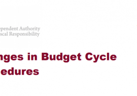 Changes in Budget Cycle Procedures