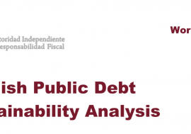 Working Paper 2/2014 Spanish Public Debt Sustainability Analysis