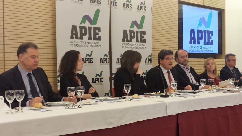José Luis Escrivá, presidente de la AIReF, en la APIE