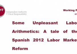 Working paper 1/2018. Some Unpleasant Labor Arithmetics: A tale of the Spanish 2012 Labor Market Reform
