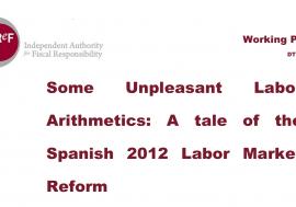 Working paper 1/2018. Some Unpleasant Labor Arithmetics: A tale of the Spanish 2012 Labor Market Reform