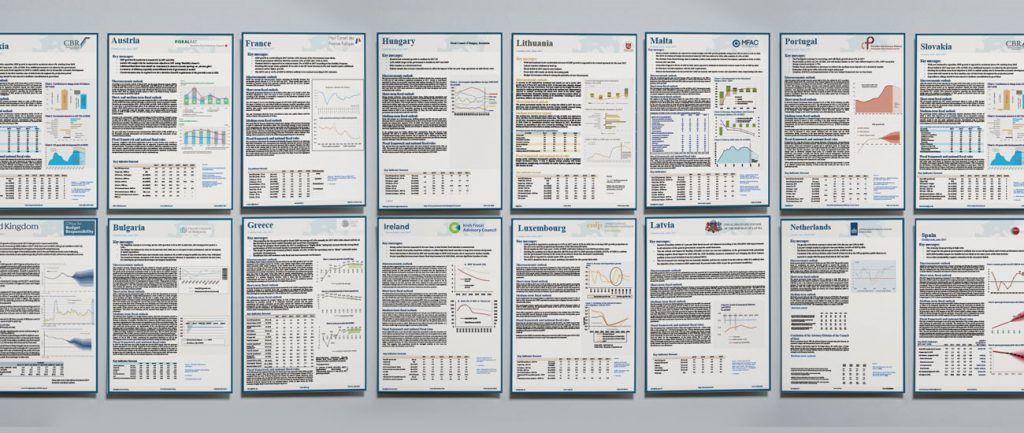 Varios informes fiscales.