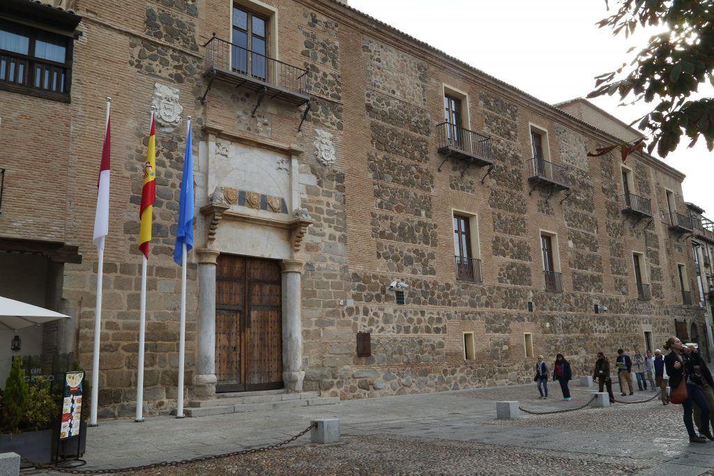 Palacio de Fuensalida, sede de la Presidencia de Castilla La Mancha