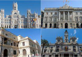 Los 16 mayores ayuntamientos de España reducirán casi un 40% su superávit en 2017
