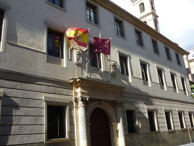 Palacio de San Esteban, sede de la Presidencia del Gobierno de la Región de Murcia