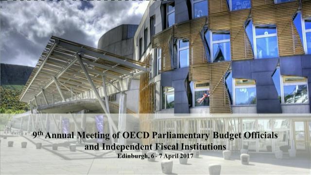 Edimburgo, sede del encuentro de la Red de Oficinas Presupuestarias de Parlamentos e Instituciones Fiscales Independientes de la OCDE