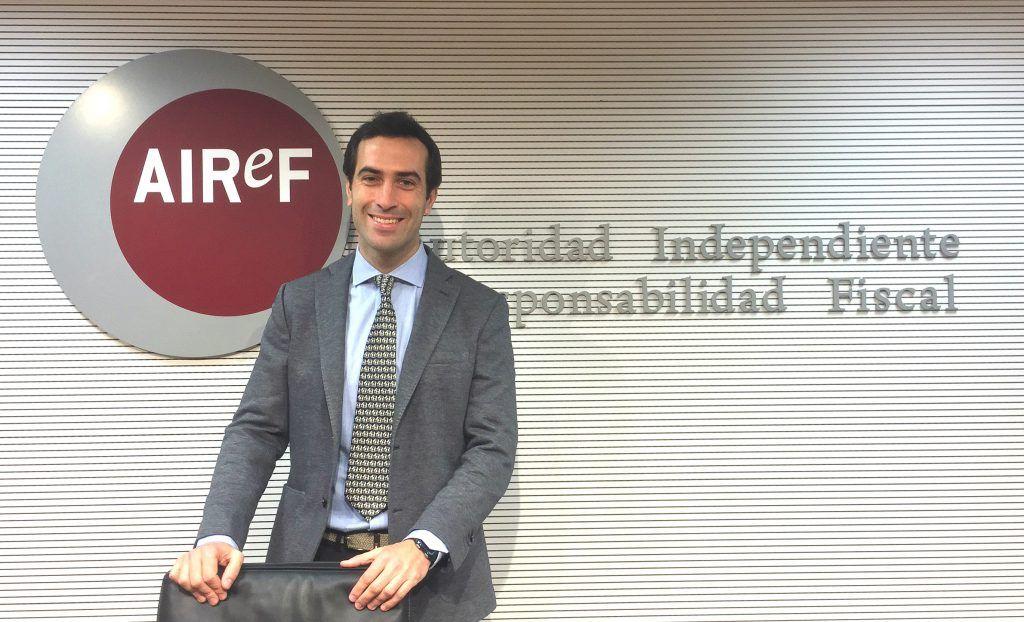 Carlos Cuerpo, director de la División de Análisis Económico de la AIReF
