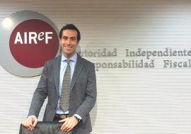 Carlos Cuerpo, nuevo director de la División de Análisis Económico de la AIReF
