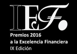 La AIReF, galardonada con el Premio IEF a la Excelencia Financiera 2016 por su labor de transparencia
