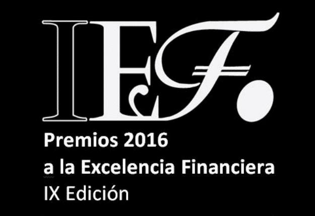 Logo de los Premios a la Excelencia Financiera.