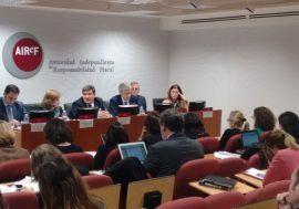 Escrivá: España cuenta con las herramientas preventivas para garantizar la sostenibilidad de las finanzas públicas, pero no se han terminado de aplicar