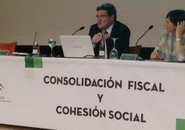 José Luis Escrivá participa en el seminario 'Consolidación fiscal y cohesión social' celebrado en Sevilla