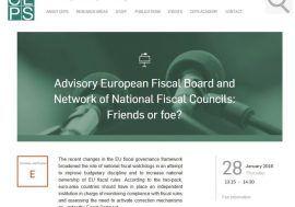 José Luis Escrivá participa en una jornada sobre el Consejo Asesor Fiscal Europeo y la Red de IFIs de la UE