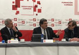 José Luis Escrivá participa en el Ciclo con las Instituciones de Regulación del Colegio Superior de Ingenieros de Caminos