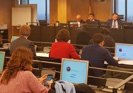 José Luis Escrivá comparece en la Comisión de Presupuestos del Congreso