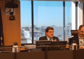José Luis Escrivá comparece en el Congreso para tratar la proposición de ley de renta mínima