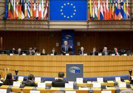 Intervención de José Luis Escrivá en el Parlamento Europeo