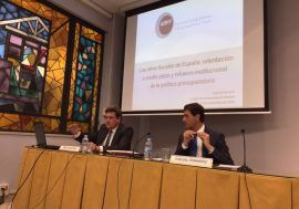 José Luis Escrivá: «Es esencial que la sostenibilidad de las finanzas públicas sea una de las anclas de la política económica»