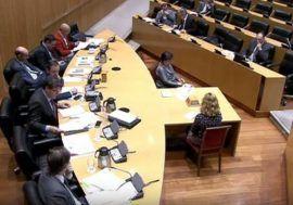 José Luis Escrivá comparece ante la Comisión de Presupuestos del Congreso de los Diputados
