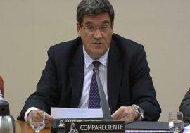 José Luis Escrivá comparece ante la Comisión de Hacienda y Administraciones Públicas del Congreso de los Diputados