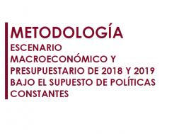 La AIReF publica la metodología para la elaboración de su escenario macroeconómico y presupuestario 2018-2019 bajo el supuesto de políticas constantes