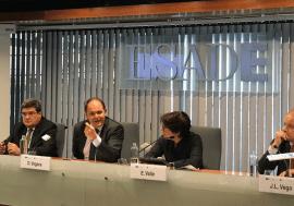 José Luis Escrivá participa en el Ciclo de Jornadas sobre el futuro de la Unión Económica y Monetaria celebrado en ESADE