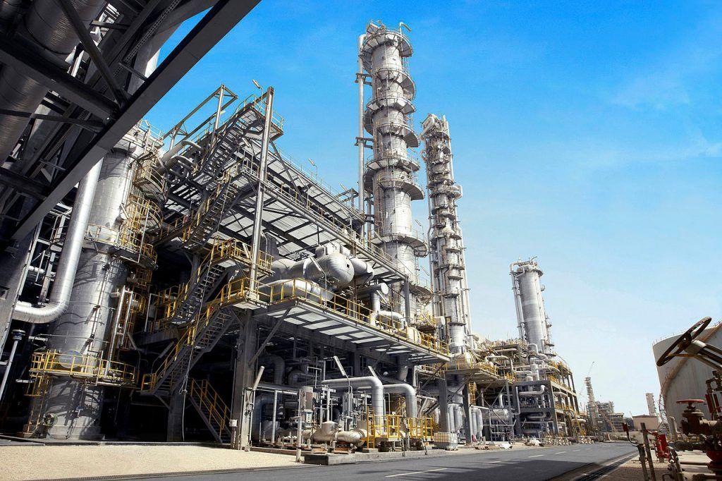 Factoría de gas en Arabia Saudita