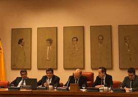 José Luis Escrivá comparece en la Comisión de Hacienda y Función Pública del Congreso de los Diputados