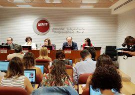 La AIReF considera improbable que el total de las AAPP alcance en 2018 el objetivo de déficit del 2,2%