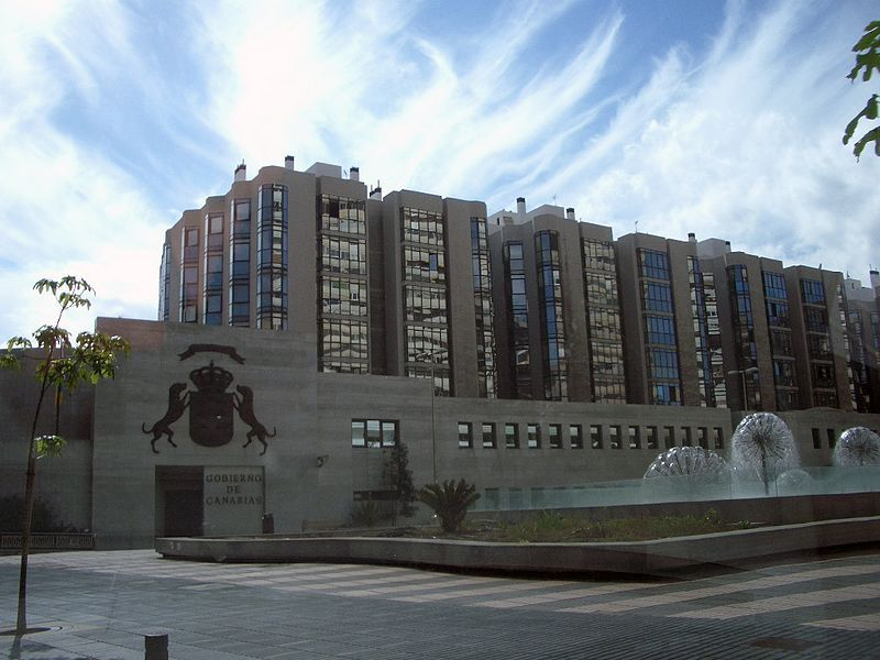 Edificio sede del Gobierno canario