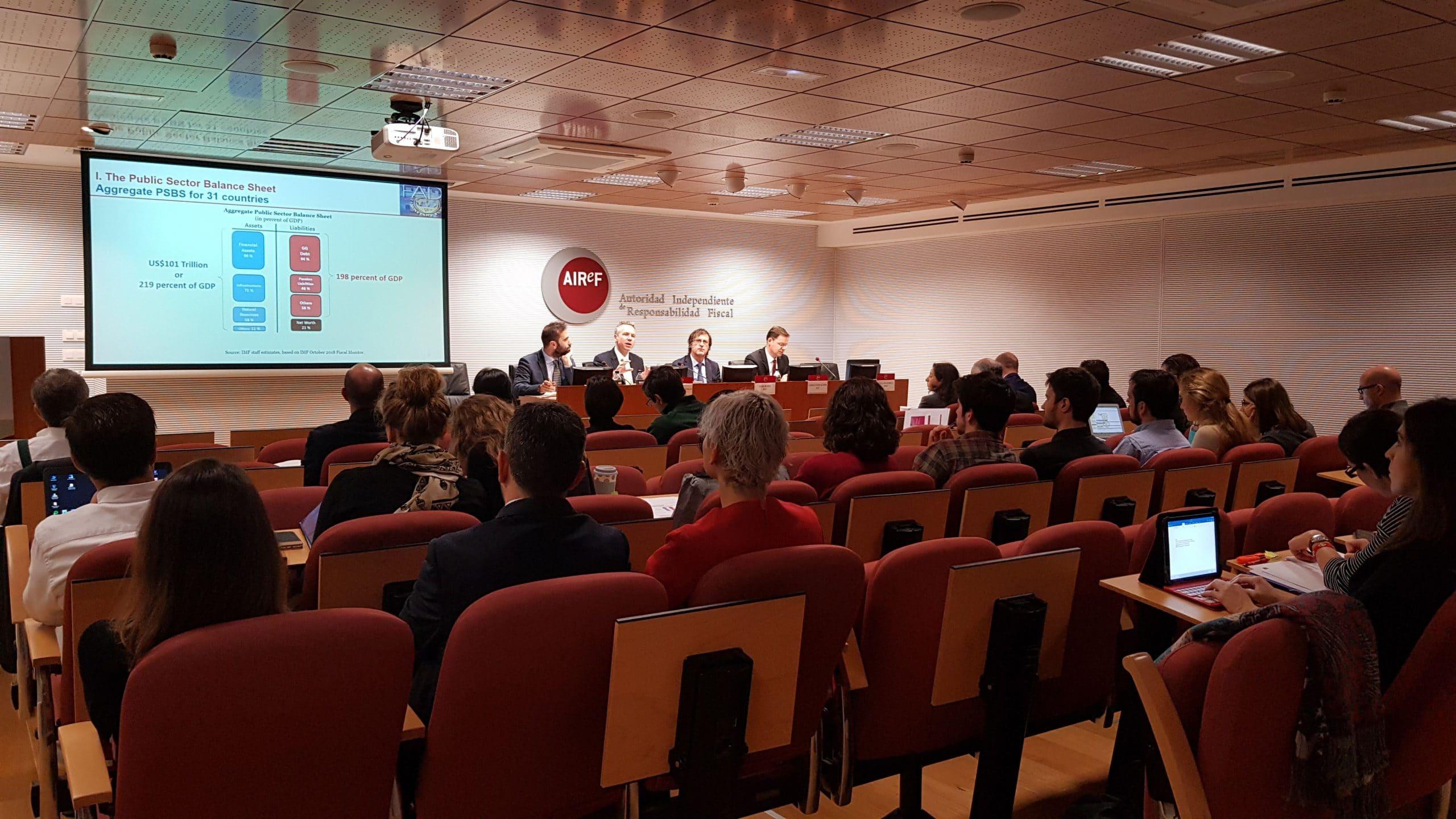 Seminario de AIReF sobre Riesgos Fiscales