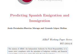 Working Paper 5/2018. Predicting Spanish Emigration and Inmigration