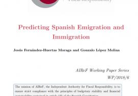 Documento de Trabajo 5/2018. Predicting Spanish Emigration and Inmigration