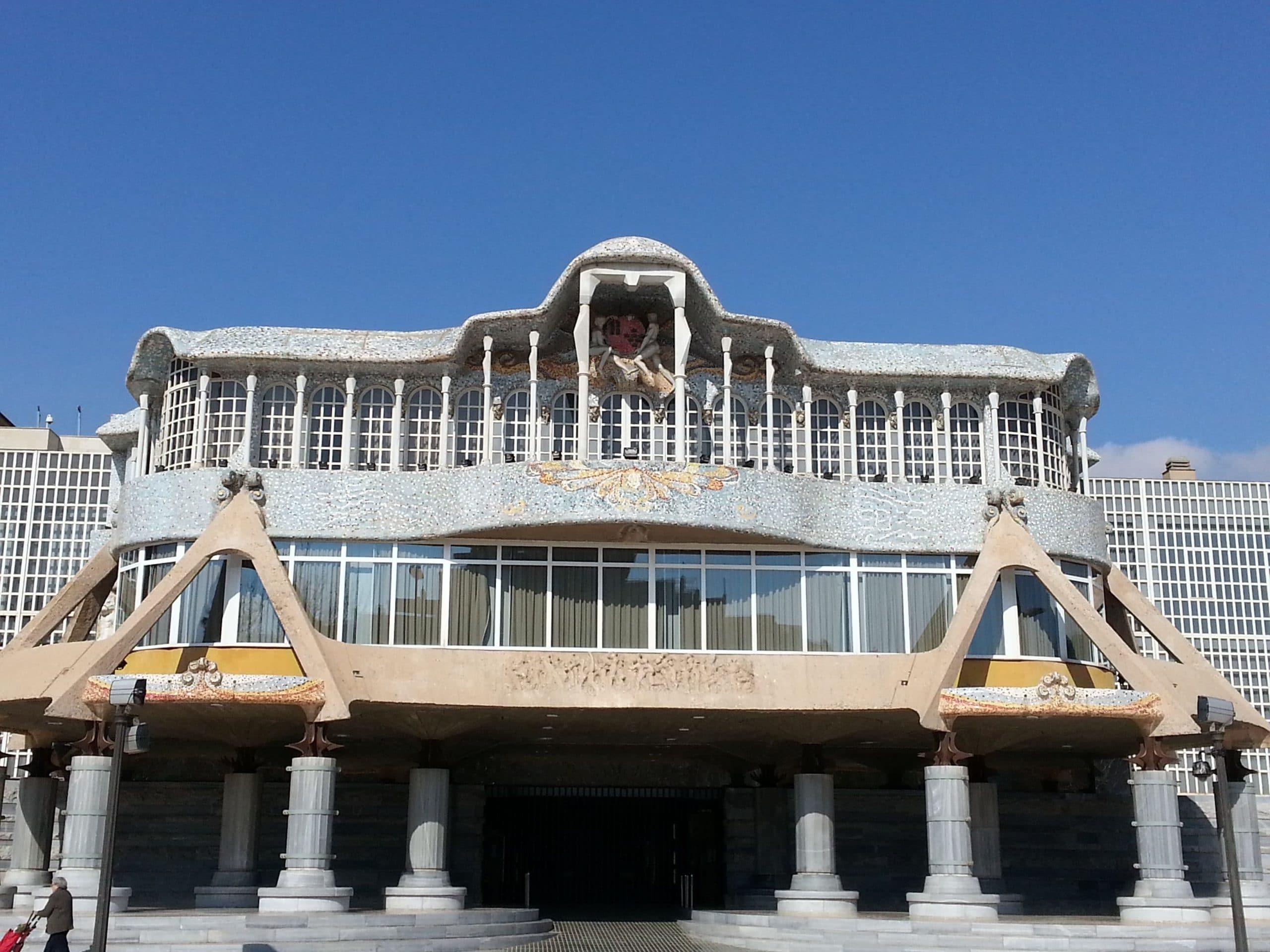 Edificio de la Asamblea Regional de Murcia