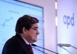 José Luis Escrivá participa en unas jornadas sobre finanzas públicas organizadas por la APD en Canarias