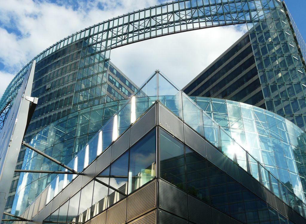 Uno de los edificios de Bruselas.