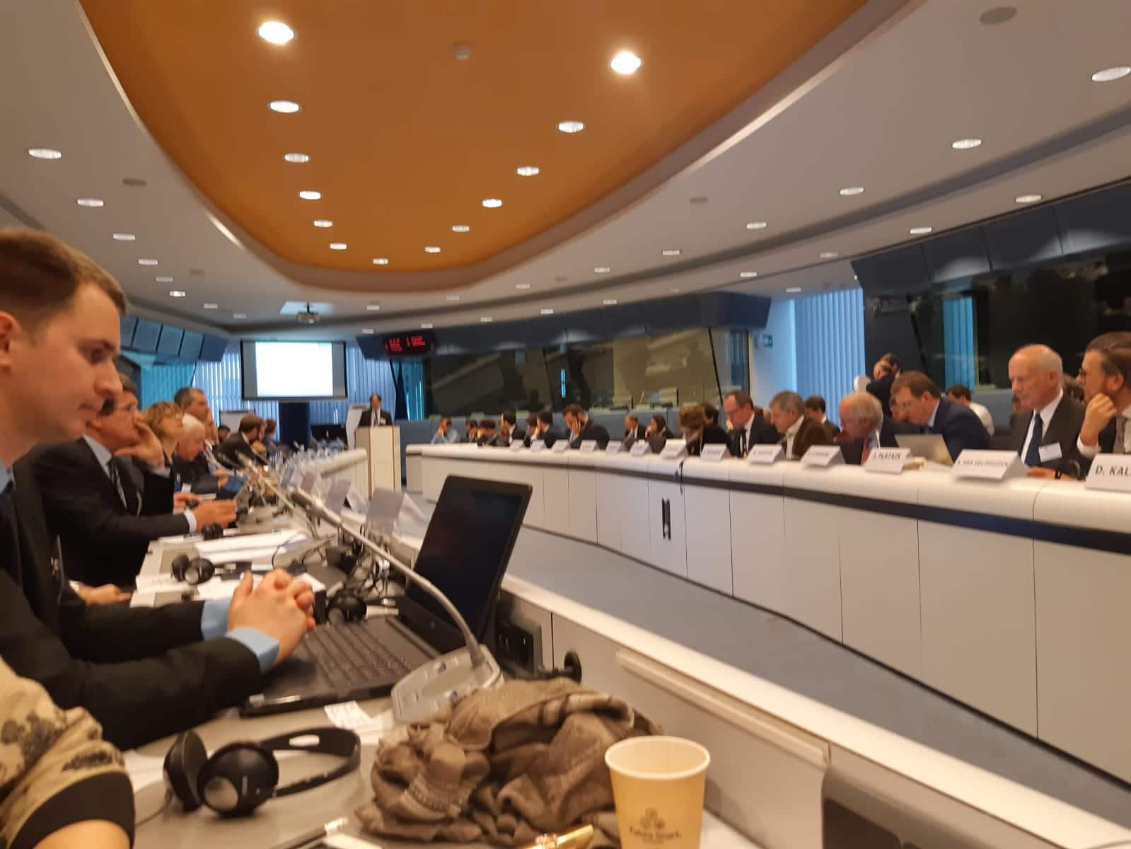 Un instante del seminario organizado por el Consejo Fiscal Europeo