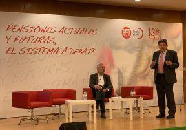 José Luis Escrivá participa en unas jornadas sobre pensiones organizadas por UGT en Palencia