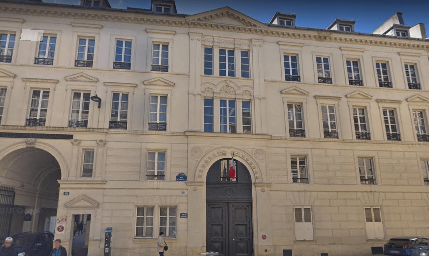 Sede del Consejo Económico de Francia