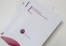 """Acceso al Estudio completo """"Los Programas de Rentas Mínimas en España"""""""