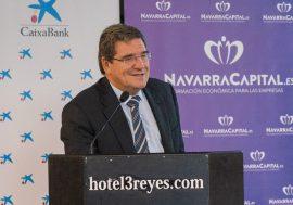 José Luis Escrivá analiza la situación y perspectivas económicas y fiscales en Navarra