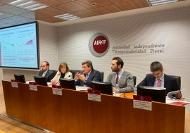 AIReF endorses the macroeconomic forecasts of the Government and considers the fiscal path feasible
