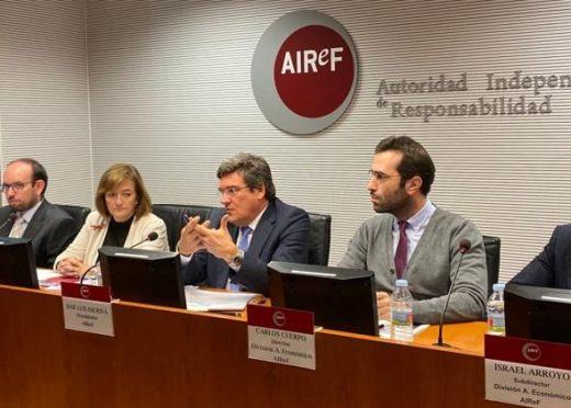 La AIReF avala el escenario macroeconómico del Plan Presupuestario y considera factible la senda fiscal