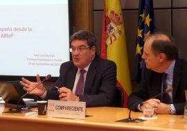 José Luis Escrivá analiza la situación de la inversión pública en España ante el Consejo Económico y Social