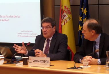 José Luis Escrivá analyzes the situation of public investment in Spain at the Economic and Social Council