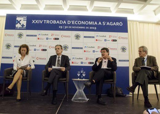 José Luis Escrivá repasa las perspectivas de la política fiscal en España en las Jornadas de Economía de S'Agaró