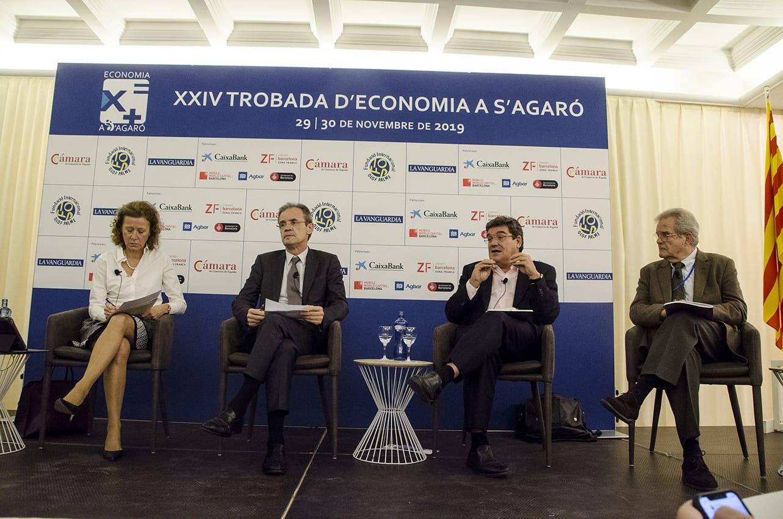 José Luis Escrivá en las Jorndas de Economía de S'Agaró
