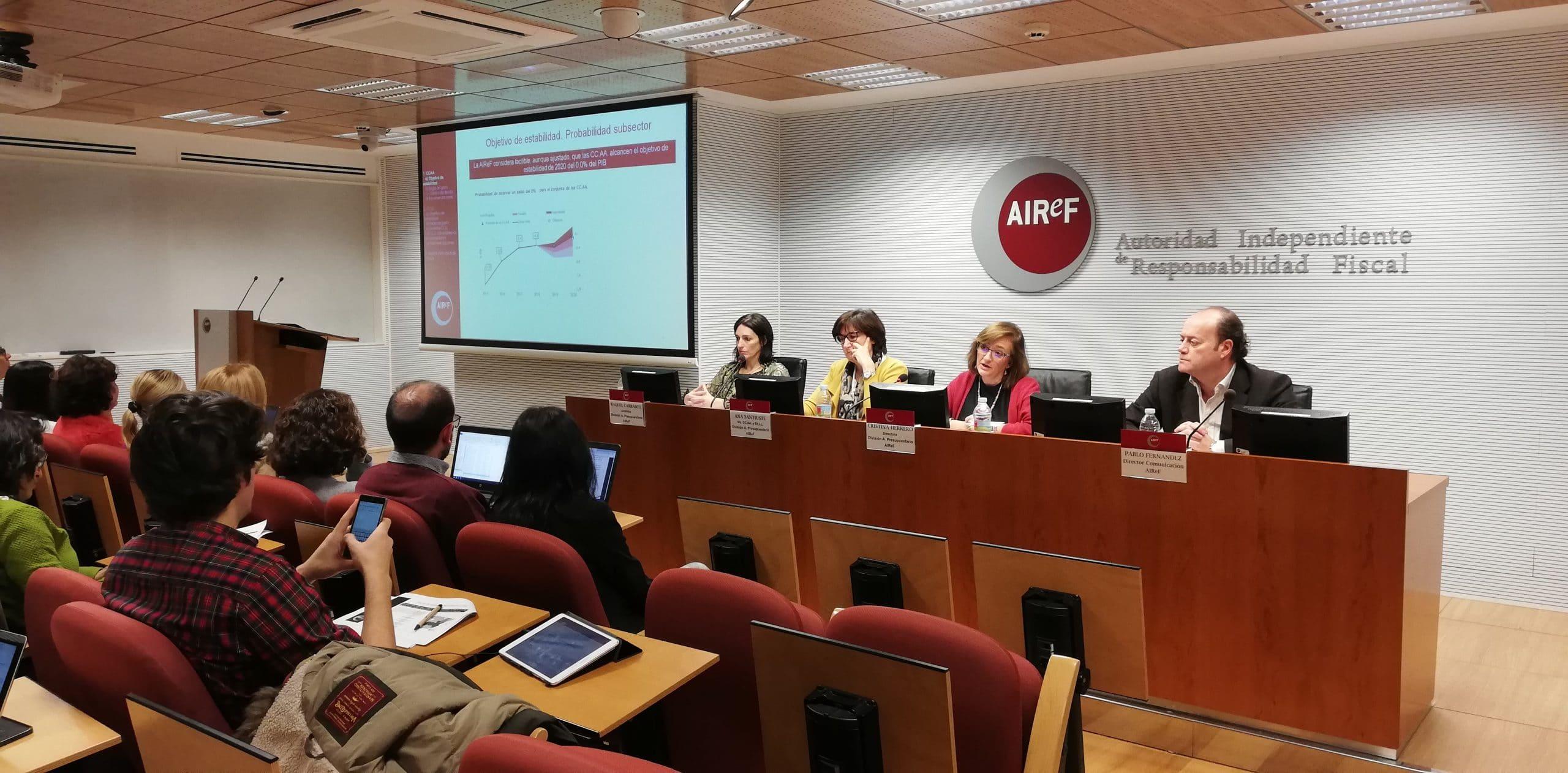 Encuentro informativo en AIReF