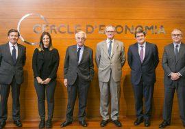 José Luis Escrivá debate sobre la eficiencia de las Políticas Activas de Empleo en Barcelona