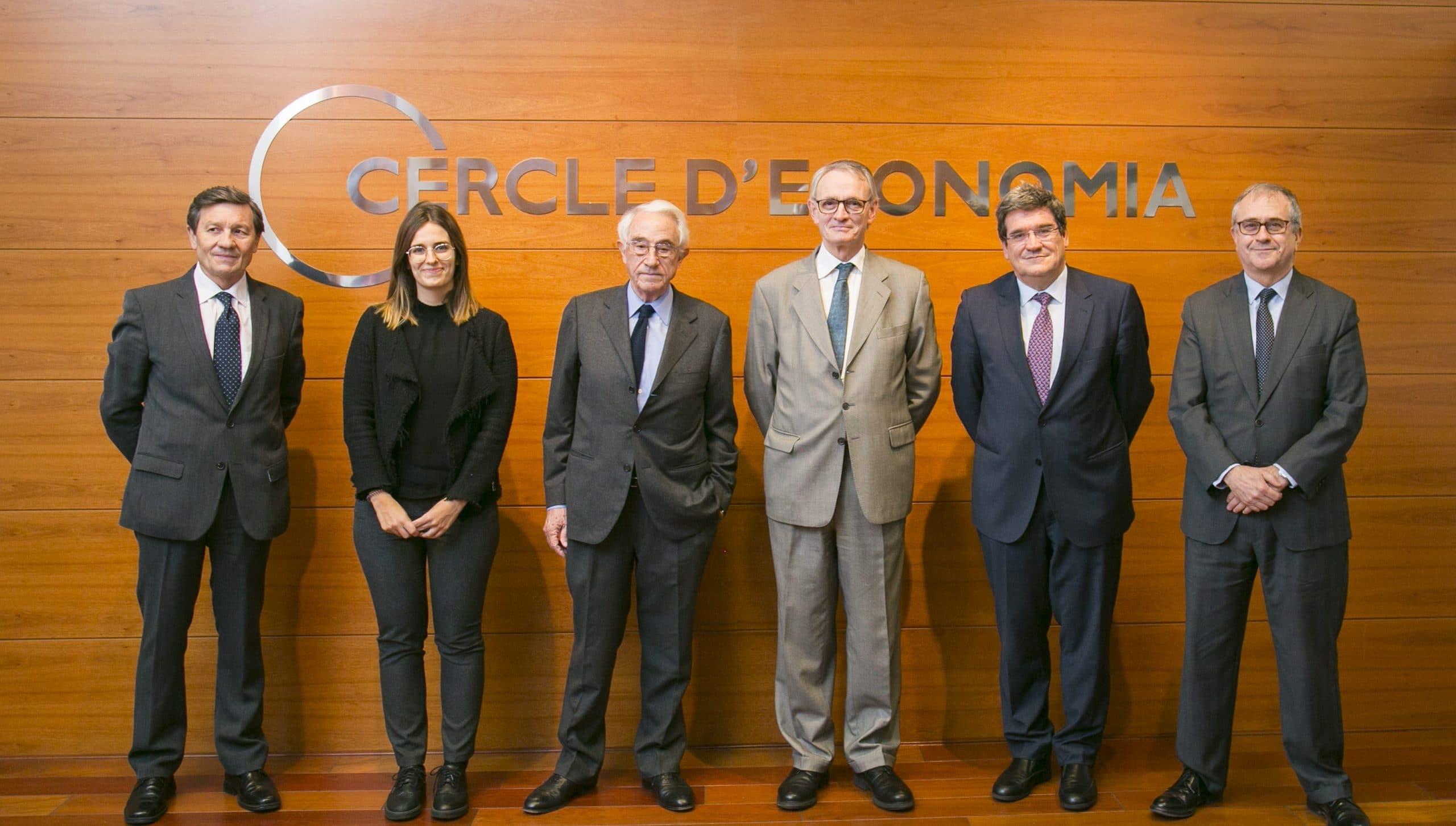José Luis Escrivá en el Cercle d'Economía